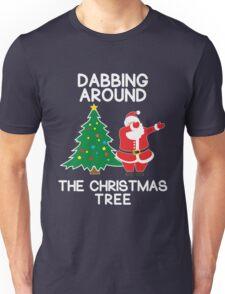 Dabbing Around the Christmas Tree - t-shirt Unisex T-Shirt