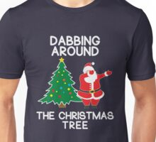 Dabbing Around the Christmas Tree - t-shirt Unisex T-Shirt