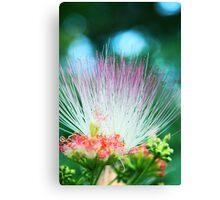 Vibrant Silk Flower Canvas Print
