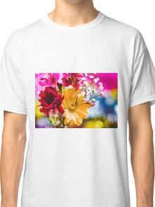 Flowers - Bold colors Classic T-Shirt