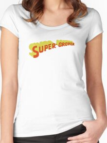 Super Grover Women's Fitted Scoop T-Shirt