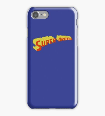 Super Grover iPhone Case/Skin