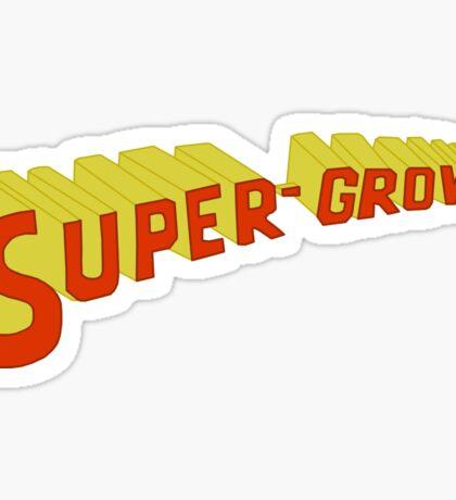 Super Grover Sticker