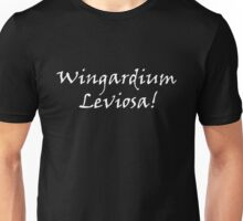 Wingardium leviosa(white) Unisex T-Shirt