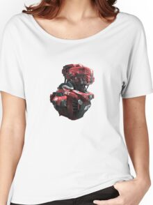 Red Scout Women's Relaxed Fit T-Shirt