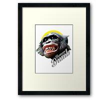 Human DUMB Framed Print