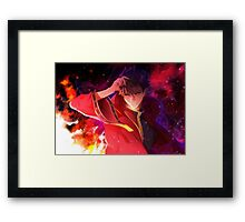 Invoker in the galaxy Framed Print