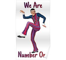 We Are Number One Poster