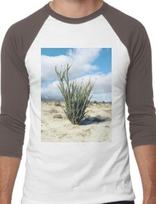 Blooming Baja Ocotillo Men's Baseball ¾ T-Shirt