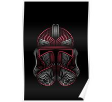 Clone Trooper red Poster