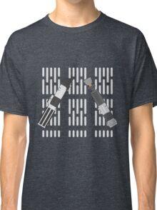 Vader and Obi-Wan Lightsaber Shirt Classic T-Shirt