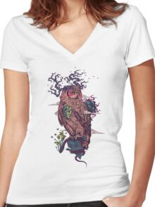 Regrowth Women's Fitted V-Neck T-Shirt
