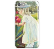 Stop and Smell the Flowers by Chris Brandley iPhone Case/Skin
