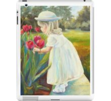 Stop and Smell the Flowers by Chris Brandley iPad Case/Skin