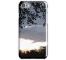 Sunset Before Little Lady... iPhone Case/Skin