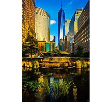 The Sunset Colors Of Battery Park City Photographic Print