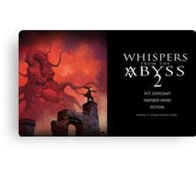 Whispers From the Abyss  2 Mug Canvas Print