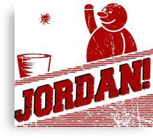 JORDAN! Canvas Print