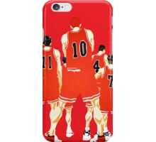 Team Shohoku iPhone Case/Skin