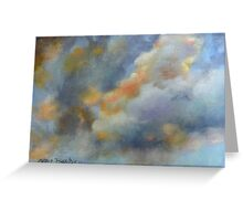 Sunlit Clouds by Chris Brandley Greeting Card