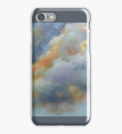 Sunlit Clouds by Chris Brandley iPhone Case/Skin