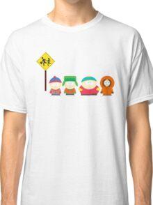 South Park Bus stop Classic T-Shirt