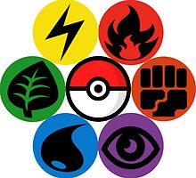 Pokemon Sacred Geometry by GarretBobbyFerg