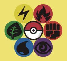 Pokemon Sacred Geometry Kids Tee