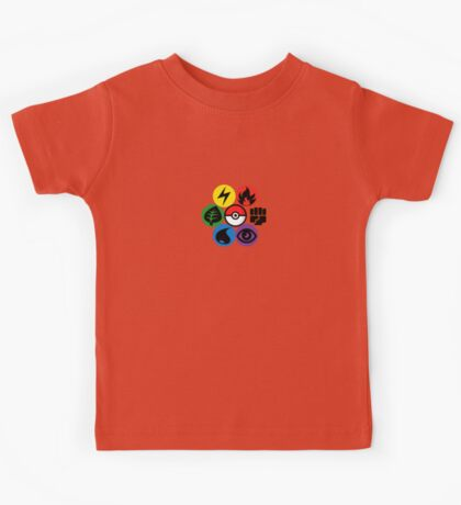 Pokemon Sacred Geometry Kids Tee