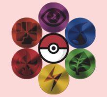 Pokemon Sacred Geometry Metallic One Piece - Long Sleeve