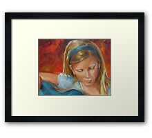 Sweet Melody by Chris Brandley Framed Print