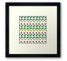 Happy Tulips Framed Print