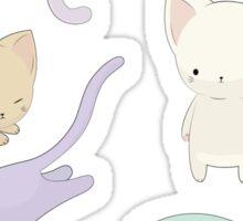 A Purrfect Cat Pattern Sticker