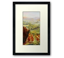 Tuscan Sunrise by Chris Brandley Framed Print