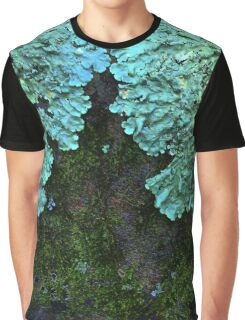 Shield Lichens Graphic T-Shirt