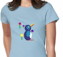 Po Po Penguin Womens Fitted T-Shirt