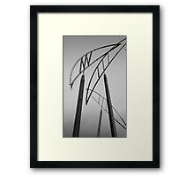 Christchurch Art Gallery- Poles Framed Print