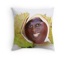 Ainsley Harriott as a Conker Throw Pillow