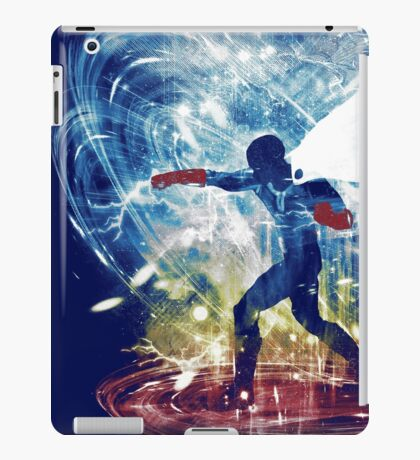 ok storm -rainbow version iPad Case/Skin