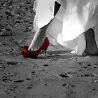 *Red Bridal Shoe* by DeeZ (D L Honeycutt)