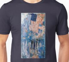 Childe Hassam The Avenue in the Rain Unisex T-Shirt