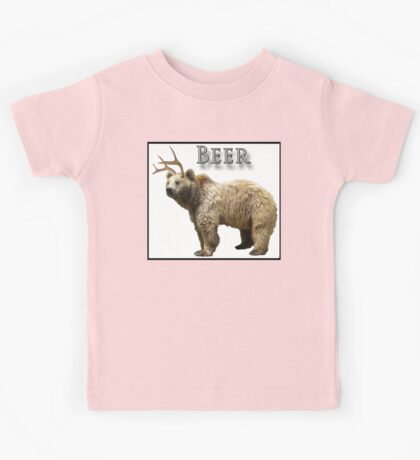 Beer Bear Kids Tee