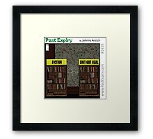Cartoon :  Non-Fiction Books Framed Print