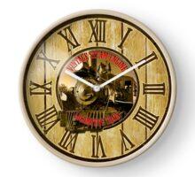 049 Wall Clock Vintage locomotive Clock