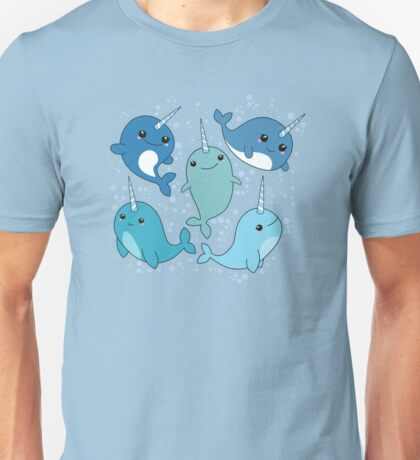 Narwhal Pattern Unisex T-Shirt
