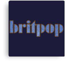 Cool Britpop Canvas Print