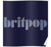 Cool Britpop Poster