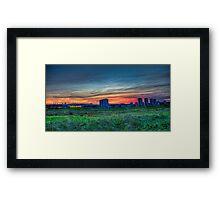 Seaton Sunset Framed Print