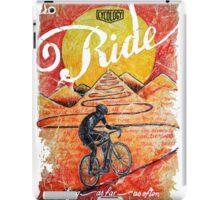 Ride...until the sun sets iPad Case/Skin