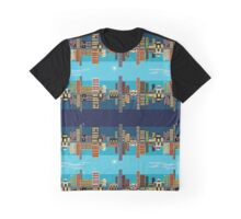 Buildings Graphic T-Shirt